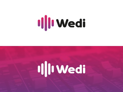 Logo Wedi illustration icon branding design brand design branding pictogram logotype vector logodesign design logo