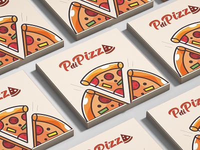 Pizza Box Mockup mockup logo illustration box packaging design packaging design pizza