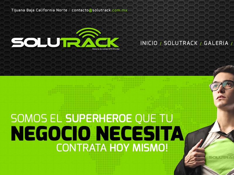 Solutrack // Website & Branding branding graphic design web design
