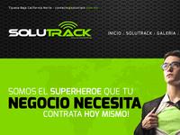 Solutrack // Website & Branding
