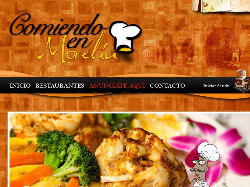 Comiendo en Morelia wordpress e-commerce graphic design web design