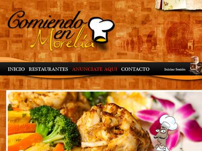 Comiendo en Morelia