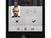 Textless iPhoneapp UI