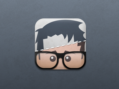 Facemash for iPhone app iphone ui icon facemash ipad ios apple