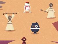 Robots and Raiders