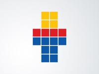 Tetris Digital Logo