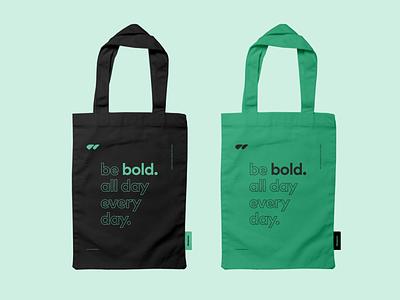 Wizzdesign Tote Bag romania logo agency tote fabric fabric bag tote bag graphic design visual identity branding concept brand identity branding design branding