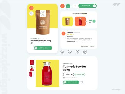 eCommerce UI kit Freebie freebies addtobag app design ecommerce app online shop webdesign uiux ui freebie ecommerce