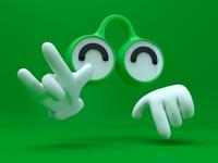 Googly Greens