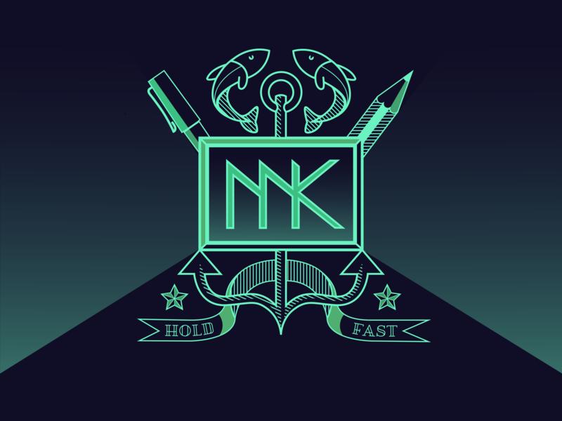 Personal logo logo vector illustration