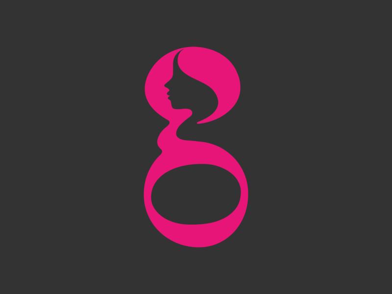 Moringly logo design logo vector illustration