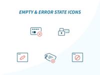 Empty & Error State Icons