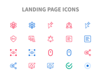 Landing Page Icons