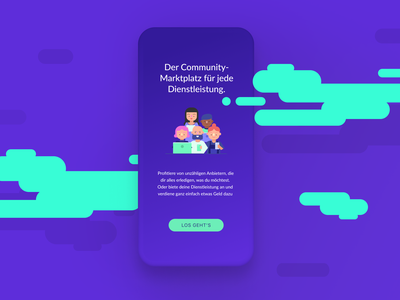 KnowS –Community Marketplace human centered design ux design ux ui design ui visual design illustration brand experience user testing android ios web design app design
