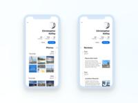 Simple Travel Guide App Part 6 Profile