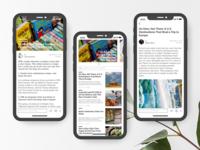 Minimize News App