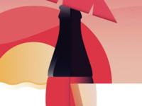 Coca Cola Summer Poster
