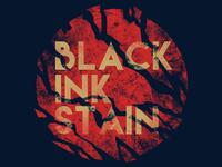 Black Ink Stain - Logo