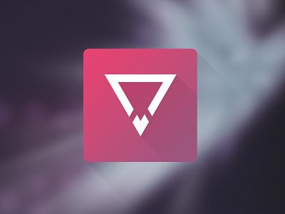 Flat Design Icon murat muratyalcin turkish flatdes flatdesign flat flat icon icon logo pink