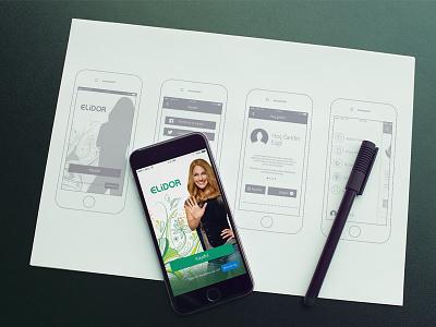 Elidor Mobile App ios design ux ui app mobile