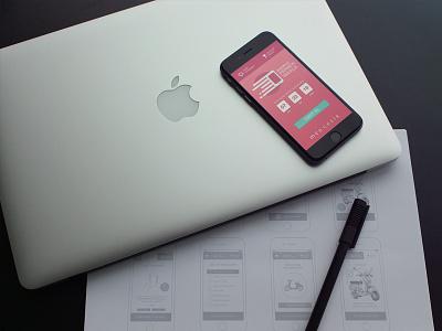 Elidor Mobile Site campaign design ui ux wireframe user interface site app mobile