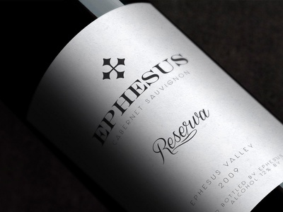 Ephesus Wine Product Design branding 3d packaging design product wine