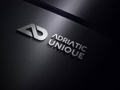 Adriatic Unique logo 3d branding identity murat muratyalcin art direction