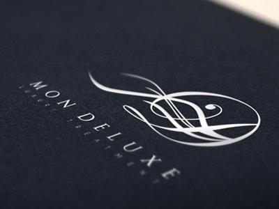 Mon Deluxe Luxury Treatment logo branding identity design murat muratyalcin