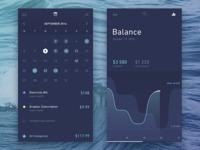 Finance Calendar and Stats
