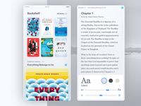 Bookshelf App Concept by Sol