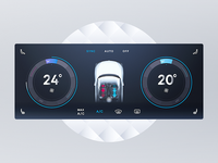 Car climate control concept