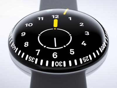 Orbit Watch Notification motion animation video movie blender 3d glow notification weather watch app watch ui watch face watch
