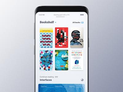 Books Mobile App cover book reading app app ui mobile