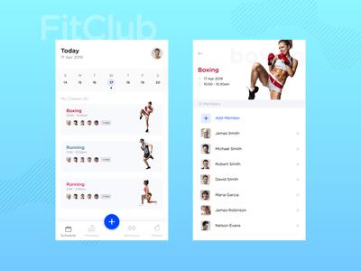 Fitness Trainer Tracker