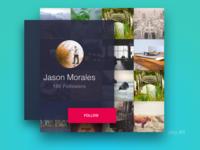Day #6:  Profile photo app