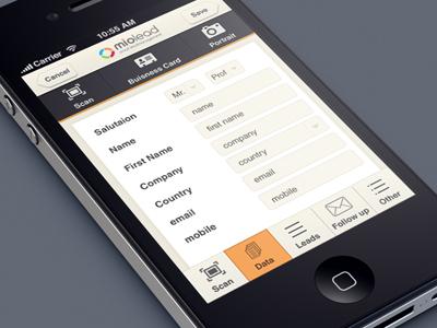 Miolead leadpage iphone app deepakjose