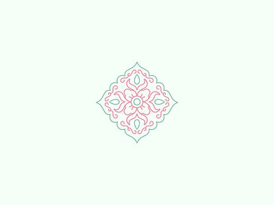 Peranakan + Batik Logomark modern logo logomarks peranakan batik logomark mark minimal