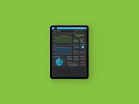 Website Traffic - UI Design