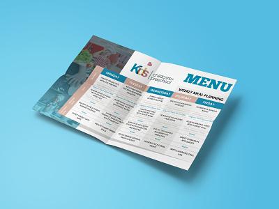 School Menu 2/3 menu design vector logo flyer design catalog design adobe photoshop adobe illustrator