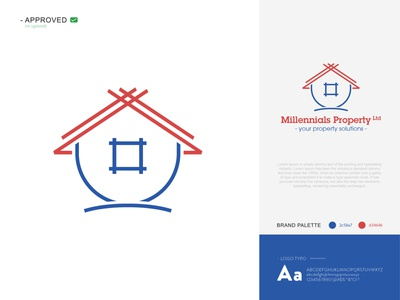 Real Estate minimalist logo monogram logo icon design logo design vector logo home adobe photoshop adobe illustrator
