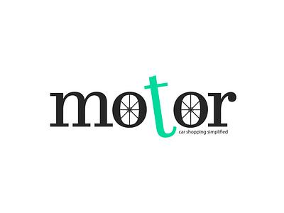 Motor Logo ecommerce car logo adobe illustrator
