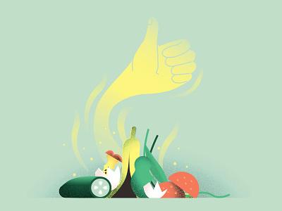 bio waste illustration