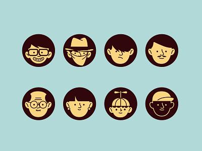 persona mobile illustration