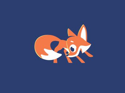 fox fox birthcard