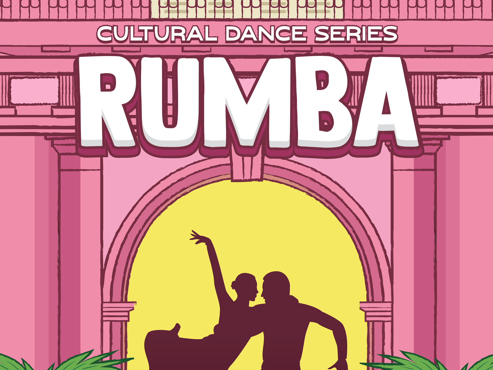 Rumba Dance Series Poster by Ava Buric on Dribbble