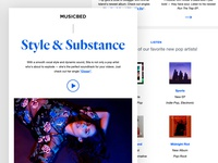 Musicbed Newsletter - Style & Substance