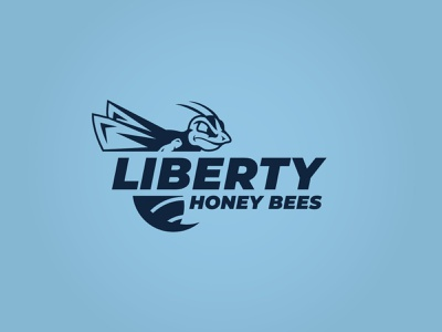 Bees Logo design missouri kansas city sports breakout escape room escape soccer honey liberty bees bee branding logo