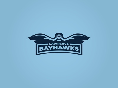 Bayhawks Logo bay hawk bay hawks hawk sports logo sports soccer lawrence kansas kc kansas city breakout escape room escape branding logo