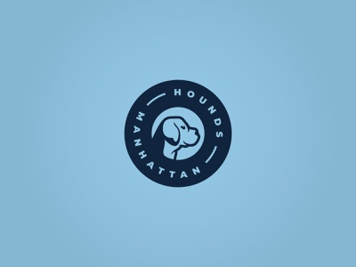 Hounds Logo prop breakout escape room escape kansas manhattan pup puppy dog hound hounds soccer sports branding logo