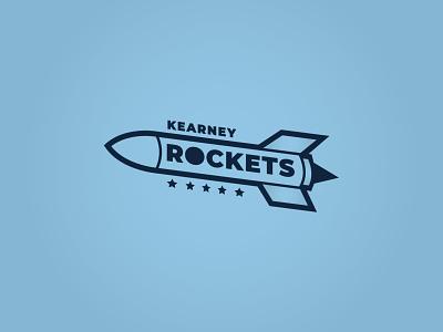 Rockets Logo escape escape room breakout sports design branding sports logo sports logo soccer missile kc kansas city missouri rocket